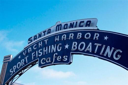 Stock Photo: 1566-0194889 Santa Monica Pier. Santa Monica. Los Angeles. USA.