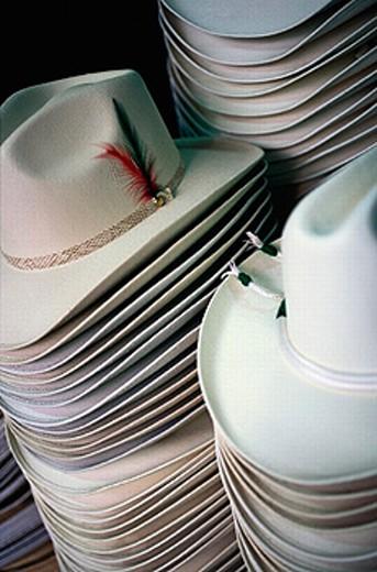Hats. San Miguel de Allende. Mexico. : Stock Photo