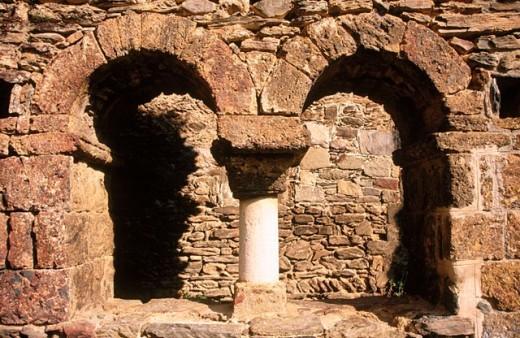 Rabós. Sant Quirze de Colera. L´Albera Natural Environment. Girona province. Spain. : Stock Photo