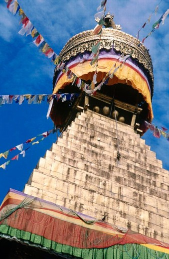 Boudha stupa. Nepal. : Stock Photo