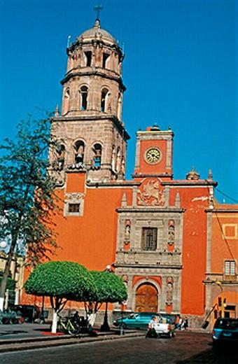 Church of San Francisco, Querétaro. Mexico : Stock Photo
