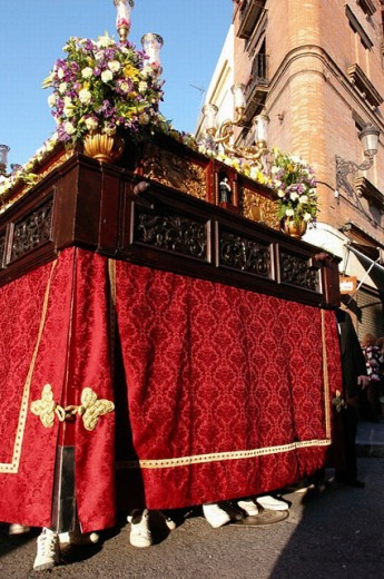 San José de la Montaña great procession. Sevilla. Andalucia. Spain : Stock Photo