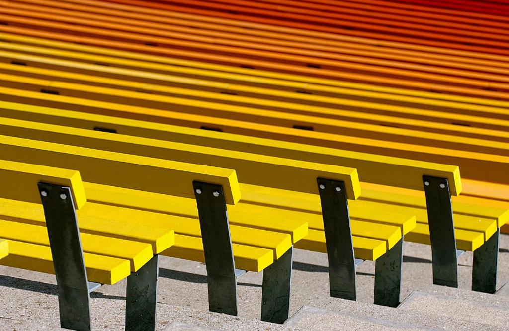 Futuroscope, image and sound theme park. Poitiers. Vienne, Poitou-Charentes, France : Stock Photo
