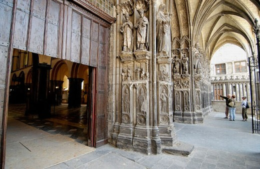 Notre Dame cathedral. Tournai. Hainaut, Belgium : Stock Photo