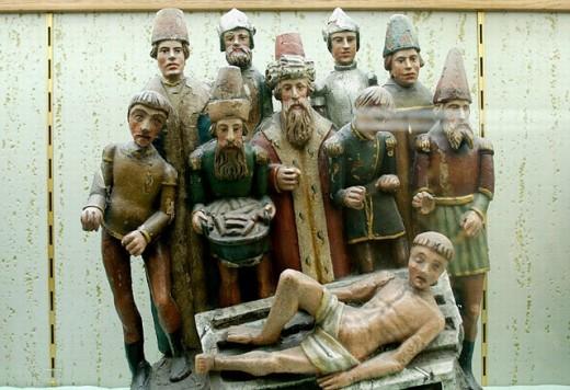 Stock Photo: 1566-0200918 Treasure museum of Notre Dame cathedral. Tournai. Hainaut, Belgium