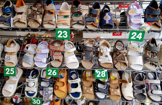 Stock Photo: 1566-0200924 Shoes. Tournai. Hainaut, Belgium