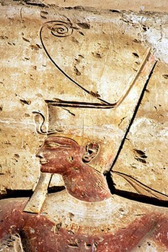 Stock Photo: 1566-0201589 Abydos temple. Egypt