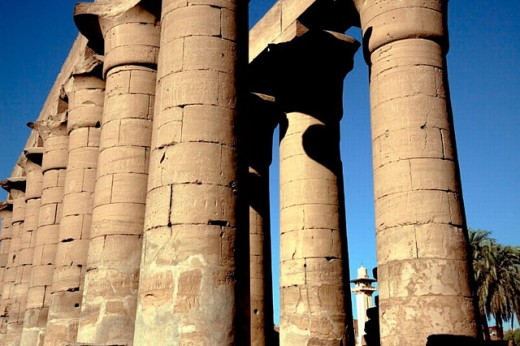 Luxor Temple. Luxor. Egypt : Stock Photo