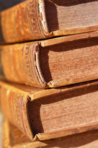 Stock Photo: 1566-0201731 Old books