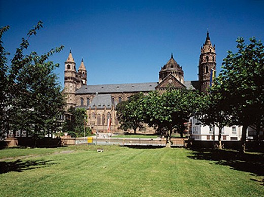 Stock Photo: 1566-0203372 Germany, Rhineland-Palatinate, Worms, St. Peter Cathedral