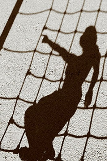 shadow net : Stock Photo