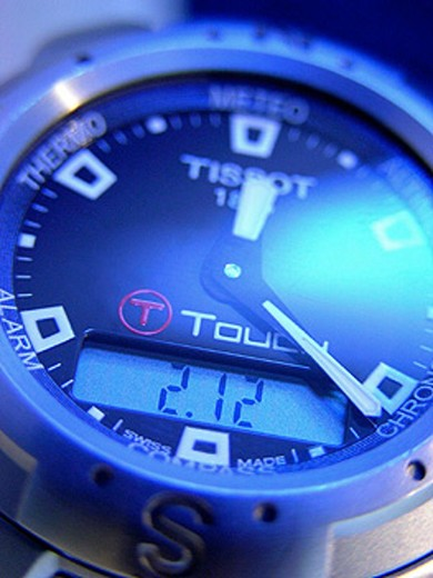 Tissot T-Touch watch : Stock Photo