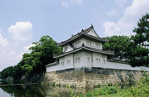 Nijo-jo castle. Kyoto. Kansai. Japan. : Stock Photo