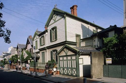 Choueke house. Kitano-cho. Kobe. Kansai. Japan. : Stock Photo