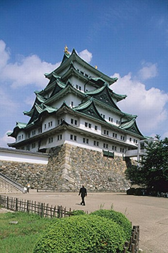 Stock Photo: 1566-0204661 Nagoya Castle, Nagoya. Kansai. Japan.