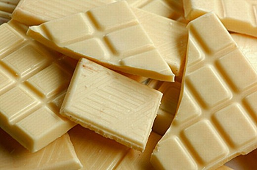 White chocolate : Stock Photo