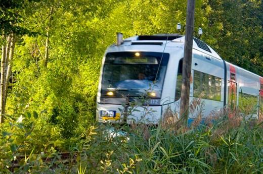 Train in Bavaria, Germany : Stock Photo