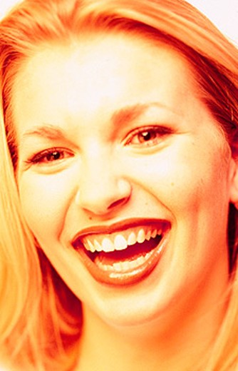 Stock Photo: 1566-020681 Woman Laughing