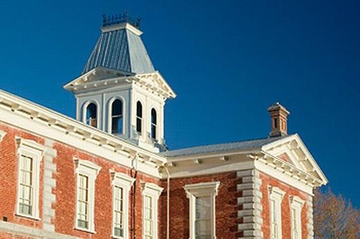 Stock Photo: 1566-0206935 Tombstone Courthouse built 1882. Tombstone, America´s gunfight capital. Arizona, USA