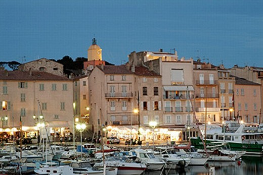 Stock Photo: 1566-0208129 Old port. St. Tropez. Provence. France
