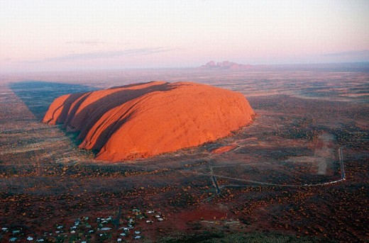 Stock Photo: 1566-0208379 Ayers Rock. Uluru. Northern Territory. Australia.