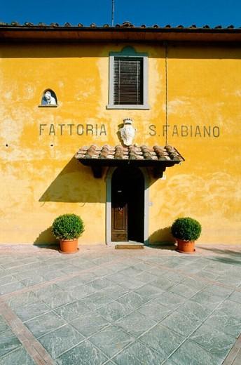 Stock Photo: 1566-0208446 Arezzo wine factory ´San Fabiano´. Tuscany. Italy.