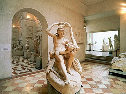 Stock Photo: 1566-0208452 Adonis and Venus. House of Canova. Possagno. Veneto. Italy.