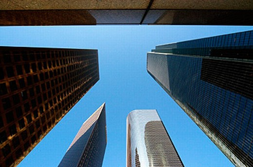 Stock Photo: 1566-0208572 Downtown Los Angeles. California. USA