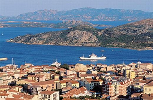Maddalena island- Maddalena archipelago - International Marin park of ´Bouches de Bonifacio´ - Sardinia - Italy : Stock Photo