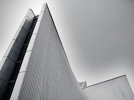 St. Mary´s Cathedral (by Kenzo Tange, 1963). Bunkyo-ku district. Tokyo. Japan : Stock Photo