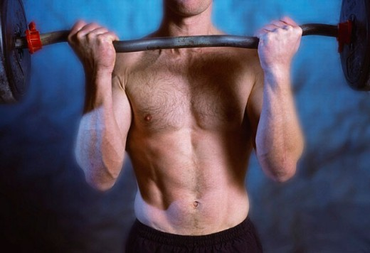 Stock Photo: 1566-0216104 Muscles