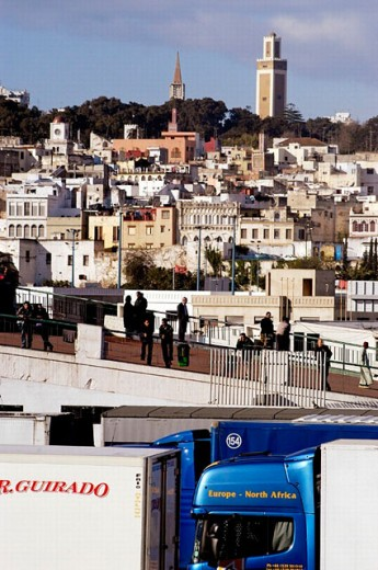 View of Tangier. Morocco. : Stock Photo
