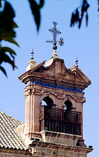 Bell Tower of church in Osuna. Andalucia. Spain : Stock Photo