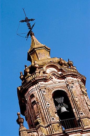 San Bartolomé Church. Carmona. Andalucia. Spain : Stock Photo