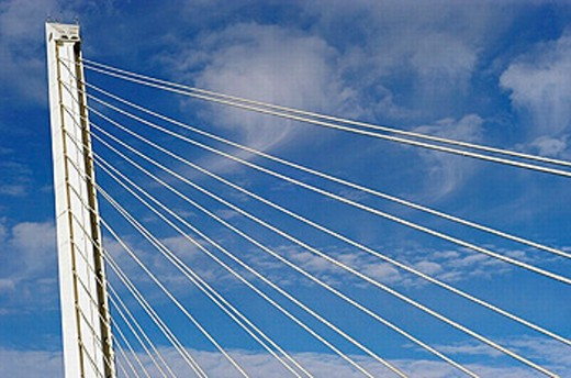 Barqueta Bridge. Sevilla. Andalucia. Spain : Stock Photo