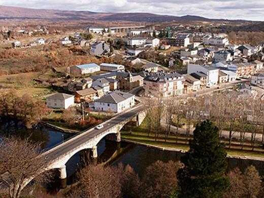 Puebla de Sanabria. Zamora province, Spain : Stock Photo