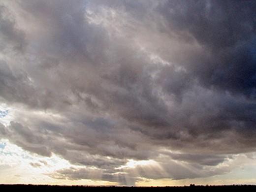 Storm. Zamora. Spain : Stock Photo
