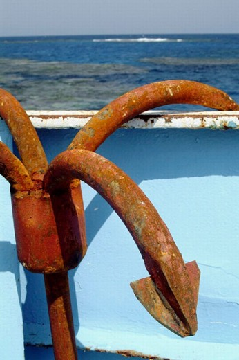 Stock Photo: 1566-0222195 Anchor
