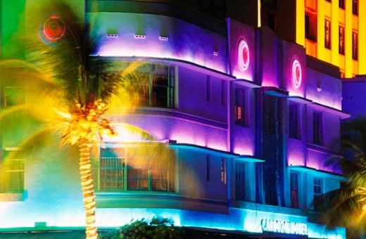 Hotel Cardozo. Art Deco area. Miami Beach. Florida. USA : Stock Photo