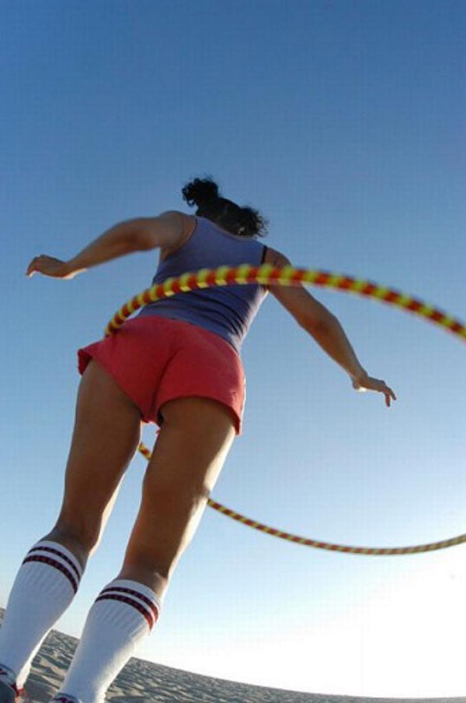 Hula-hoop : Stock Photo