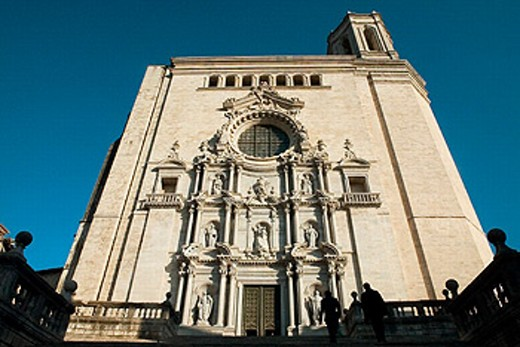 Stock Photo: 1566-0223934 Cathedral. Girona. Spain