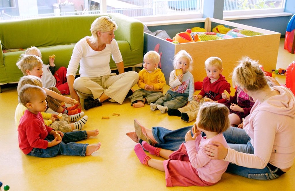 Stock Photo: 1566-0224110 Day care center