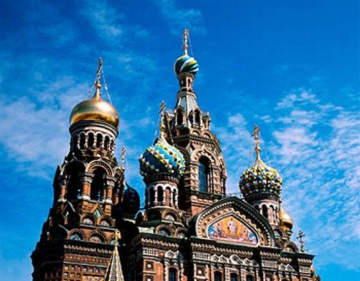 Stock Photo: 1566-0224632 Church of the Bleeding Savior. St. Petersburg. Russia