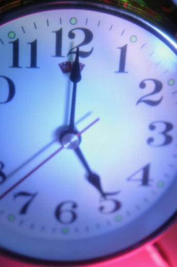 Stock Photo: 1566-0232808 Alarm clock