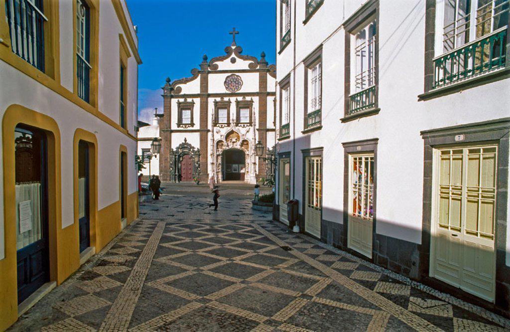 Stock Photo: 1566-0234402 Ponta Delgada. Sao Miguel Island. Azores archipelago. Portugal.