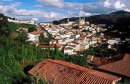 Ouro Prêto. Minas Gerais, Brazil : Stock Photo