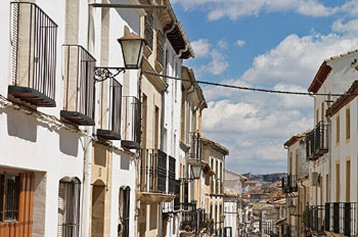 Stock Photo: 1566-0235684 Baeza. Jaén province, Andalusia. Spain