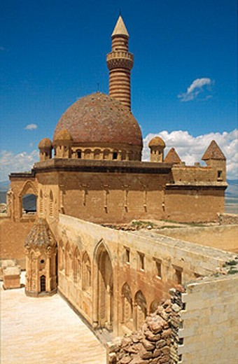 Stock Photo: 1566-0236571 Palace of Ishac Pasha near Dogubayazet, Turkey