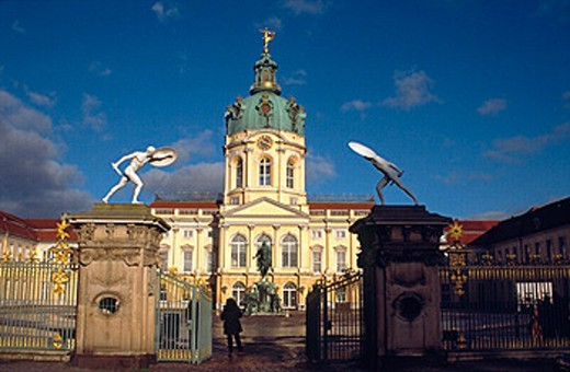 Charlottenburg palace. Berlin, Germany. : Stock Photo