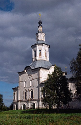 Stock Photo: 1566-0236627 Church of the Annunciation, Lalsk, Kirov region, Russia